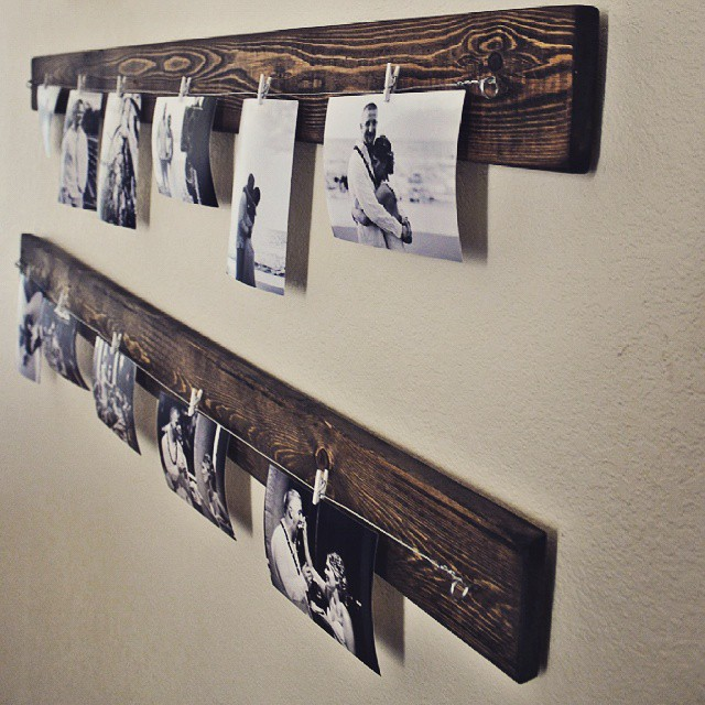 Ideales para colgar tus fotos! #clodohouse #buenosaires #argentina #furniture #wood #fotos #picture
