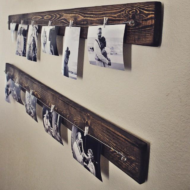 Ideales para colgar tus fotos! #clodohouse #buenosaires #argentina #furniture #wood #fotos #picture