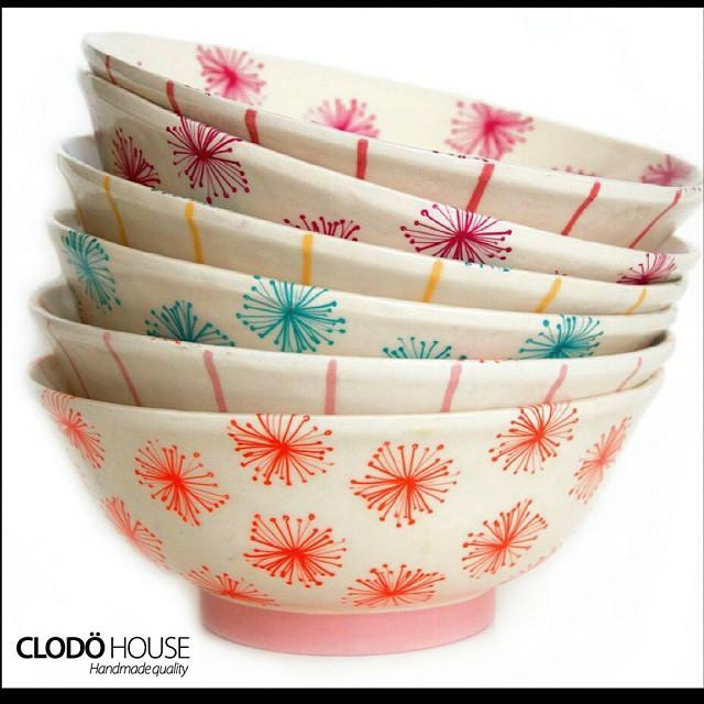 Ensaladeras de cerámica!  #buenosaires #argentina #clodohouse #diseño #deco #vajilla #ceramica #pote