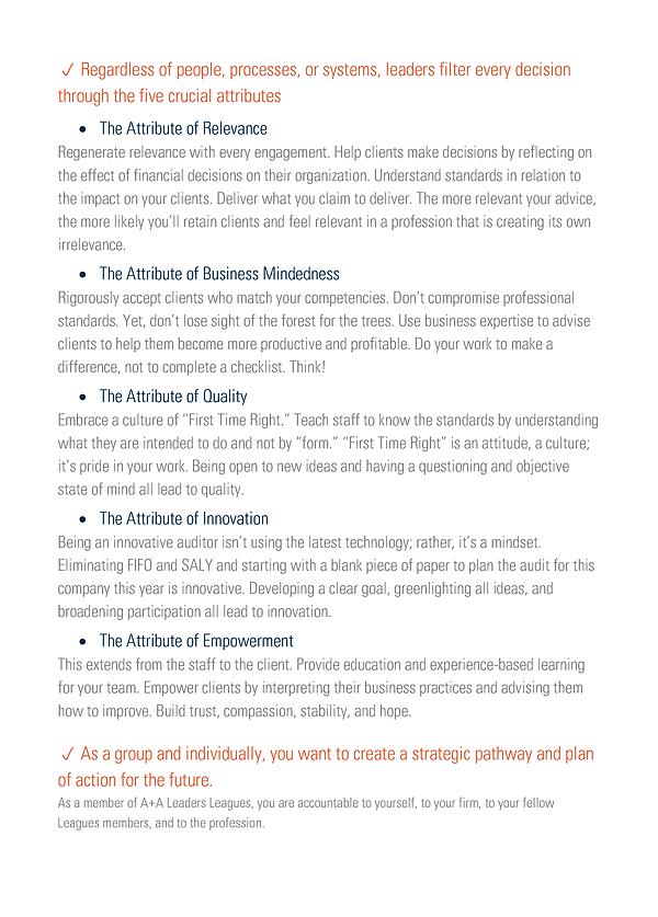A+A Leaders Leagues Executive Summary 2.