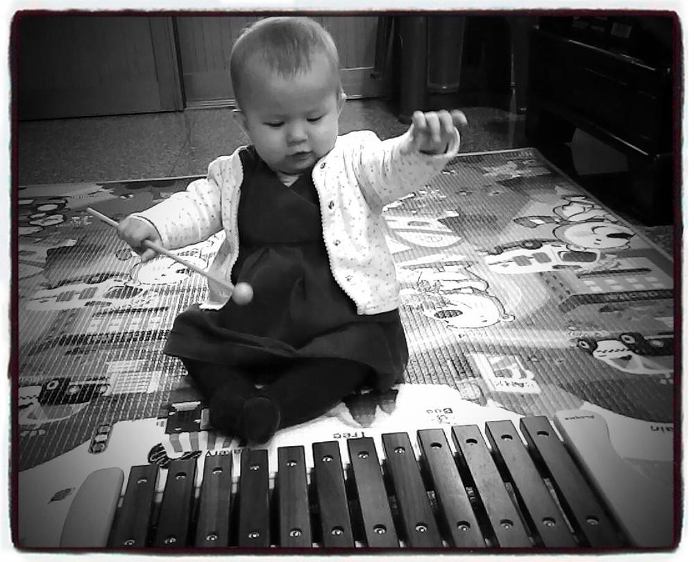 Playing music!