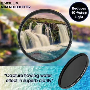Digital SLIM ND1000 Neutral Density Optical Glass Camera Lens Filter