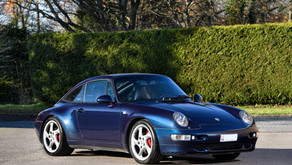 VENDUE - Exceptionnelle Porsche 993 Targa, 95.000 kms, préparation RUF