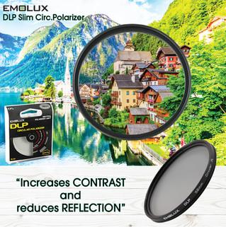 Digital SLIM Circ.Polarizer (CPL) Camera Lens Filter