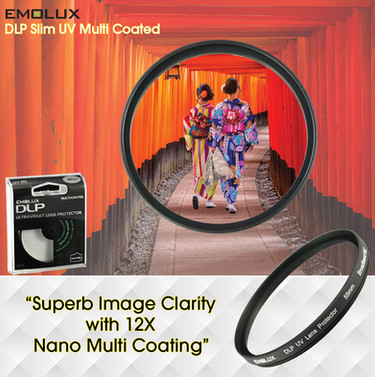 Digital SLIM Ultraviolet (UV) Multi Coated Camera Lens Filter