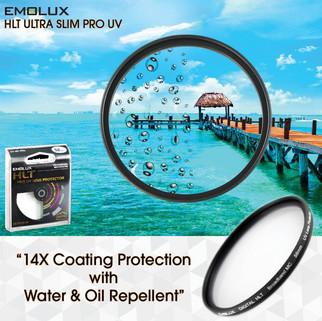 Digital ULTRA SLIM Ultraviolet (UV) Water & Oil Repellent MC Camera Lens Filter
