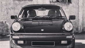 VENDUE- Magnifique Porsche 911 3.2L, noire, 1988, G50, 95.000 kms, carnet complet!