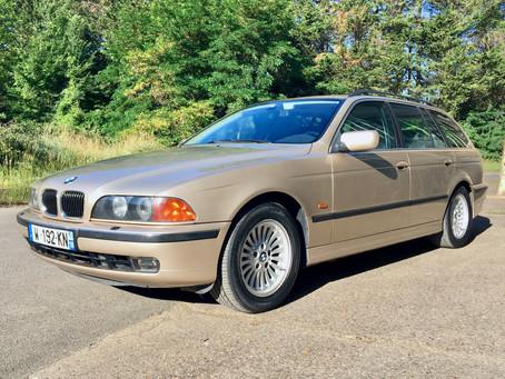 VENDUE - BMW 540ia Touring, V8 286cv, 112.000 kms, carnet d'entretien