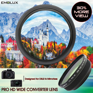[For DSLR and Mirrorless] PRO HD 0.7x Wide Converter Lens (58mm)