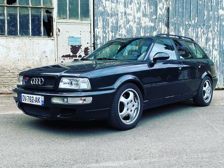 VENDUE - Rare Audi RS2, très bel état d'origine, carnet complet et peinture d'origine