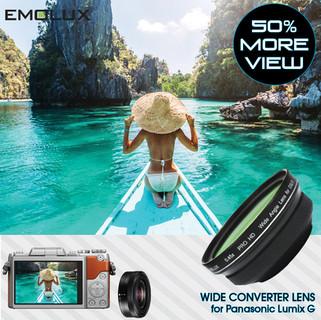[For Panasonic Lumix G] Emolux PRO HD 0.45x Wide Converter Lens