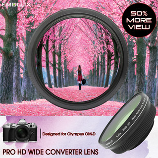 [For Olympus OM-D] PRO HD 0.45x Wide Converter Lens (58mm)