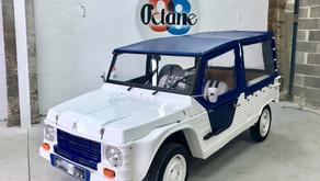 VENDUE - Citroën Méhari prête pour aller à la plage!