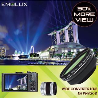 [For Pentax Q-S1] Emolux PRO HD 0.45x Wide Converter Lens