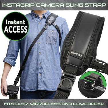 INSTAGRIP Quick Access Sling Shoulder Strap for DSLR and mirrorless cameras