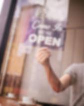 Открытый знак