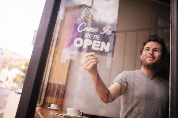 Signe ouvert