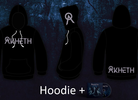 Logo Hoodie + The Asylum Single CD