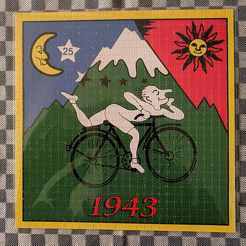 Bicycle Day Blotter Art