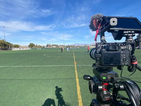 Shooting Football Combine in Las Vegas,NV