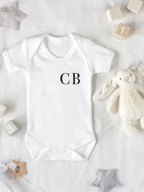 Monogram Baby Grow