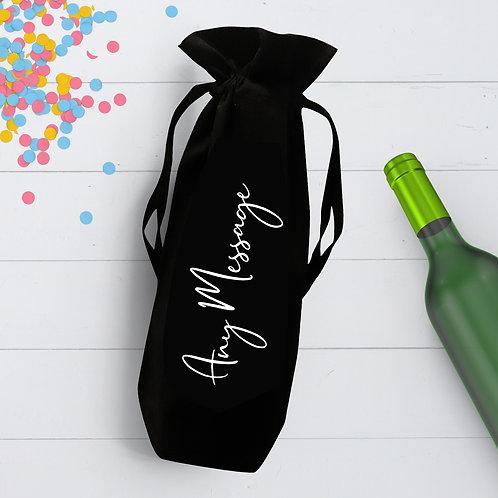 Any Message Bottle Bag