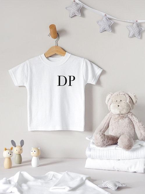 Initials Baby T-Shirt
