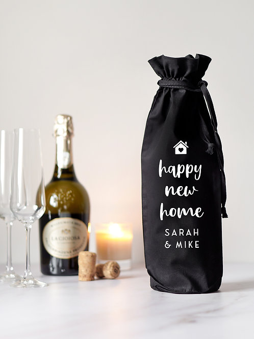 Happy New Home Bottle Bag