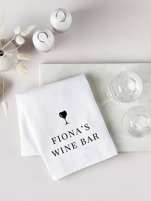 Wine Bar Tea Towel