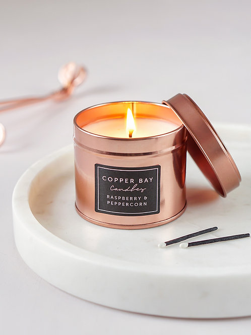 Copper Tin Candle
