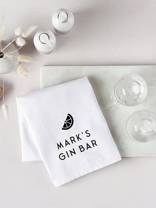 Gin Bar Tea Towel
