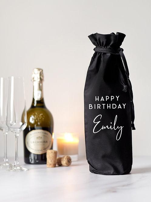 Happy Birthday Bottle Bag