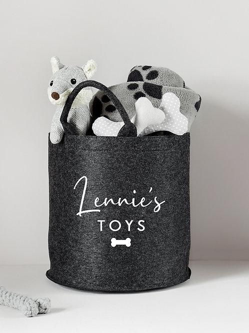 Pet Toy Basket