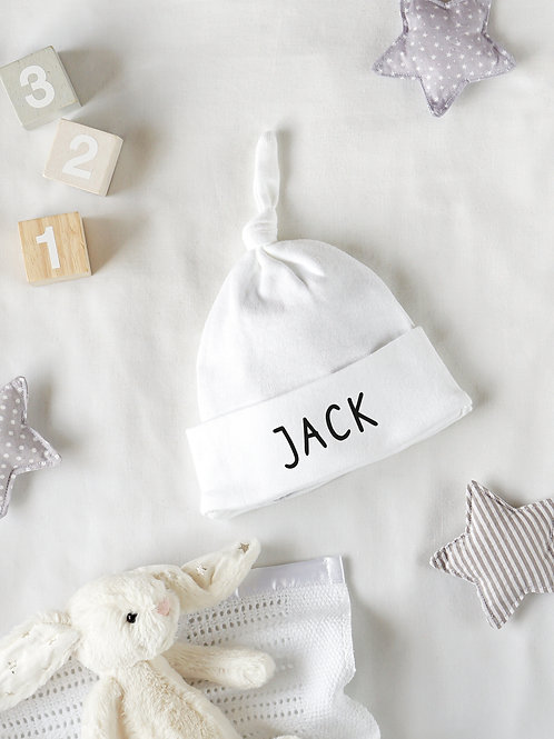 Name Baby Hat