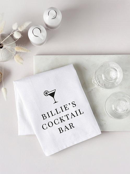 Cocktail Bar Tea Towel