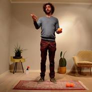 2 ballen jongleren