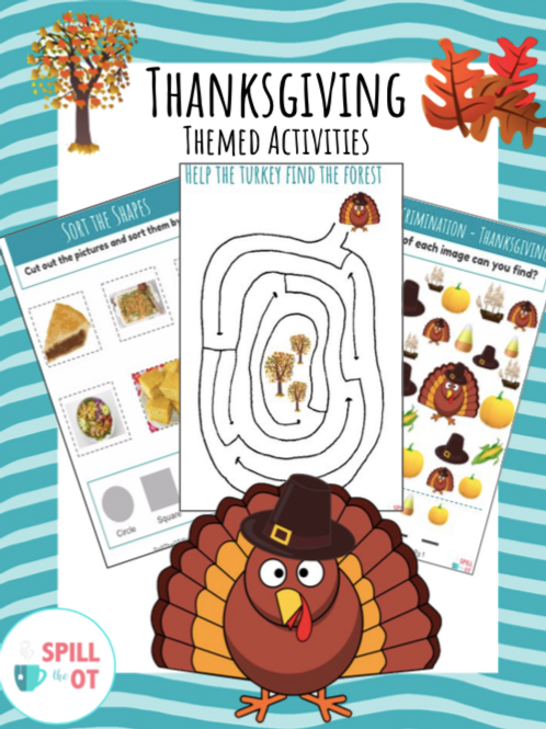 Thanksgiving Themed Activities PDF
