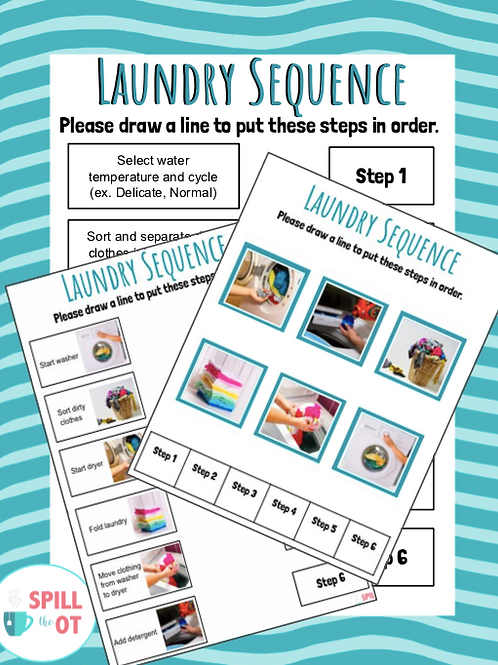 Laundry Sequencing Activity