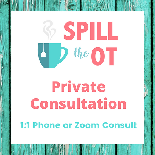 Private Phone or Zoom Call Consultation