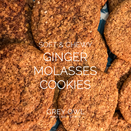 Recipe: Soft & Chewy Ginger Molasses Cookies