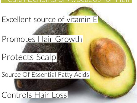 Health Benefits Of Avocados For Hair