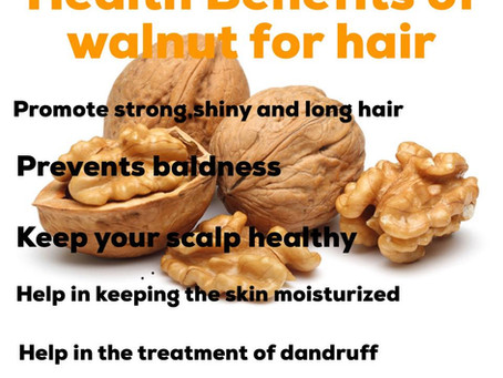 Health Benefits Of Walnut For Hair