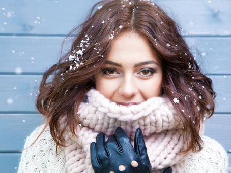 TAKE CARE OF YOUR HAIR IN THE WINTER