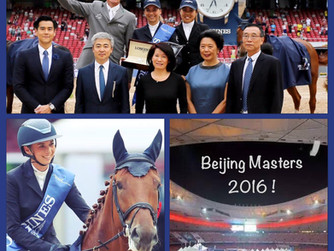 Jane Richard Philips claimed the victory in Longines Beijing Masters GP