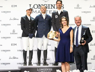Calinesse, top performer at Longines Masters L.A.