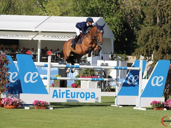 The young boy Victorio des Grez left the mark at the LGCT in Madrid !