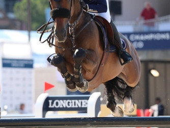 Victorio shows up his talent in LGCT GP at Monaco