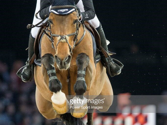 Flying Foica at the Longines HKG Masters