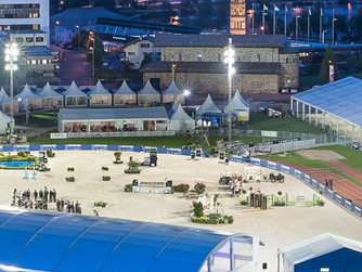 Top international jumping soon in St. Moritz !