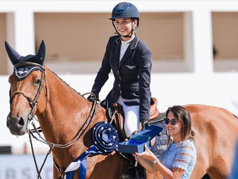 Jane flies to victory in CSI4* of St. Tropez